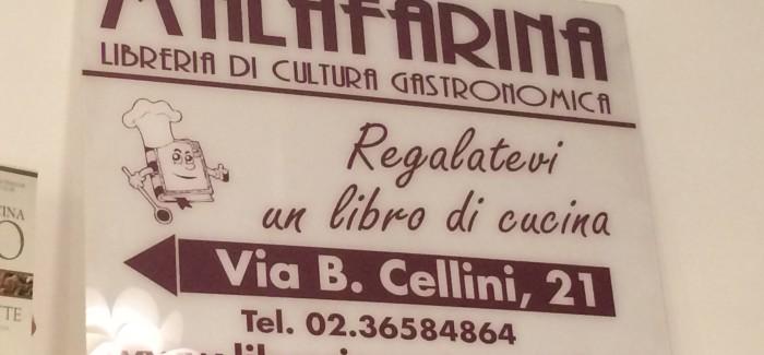 La Libreria Gastronomica Malafarina a Milano: libri, corsi, libri, presentazioni, libri, iniziative, libri, letture, libri…