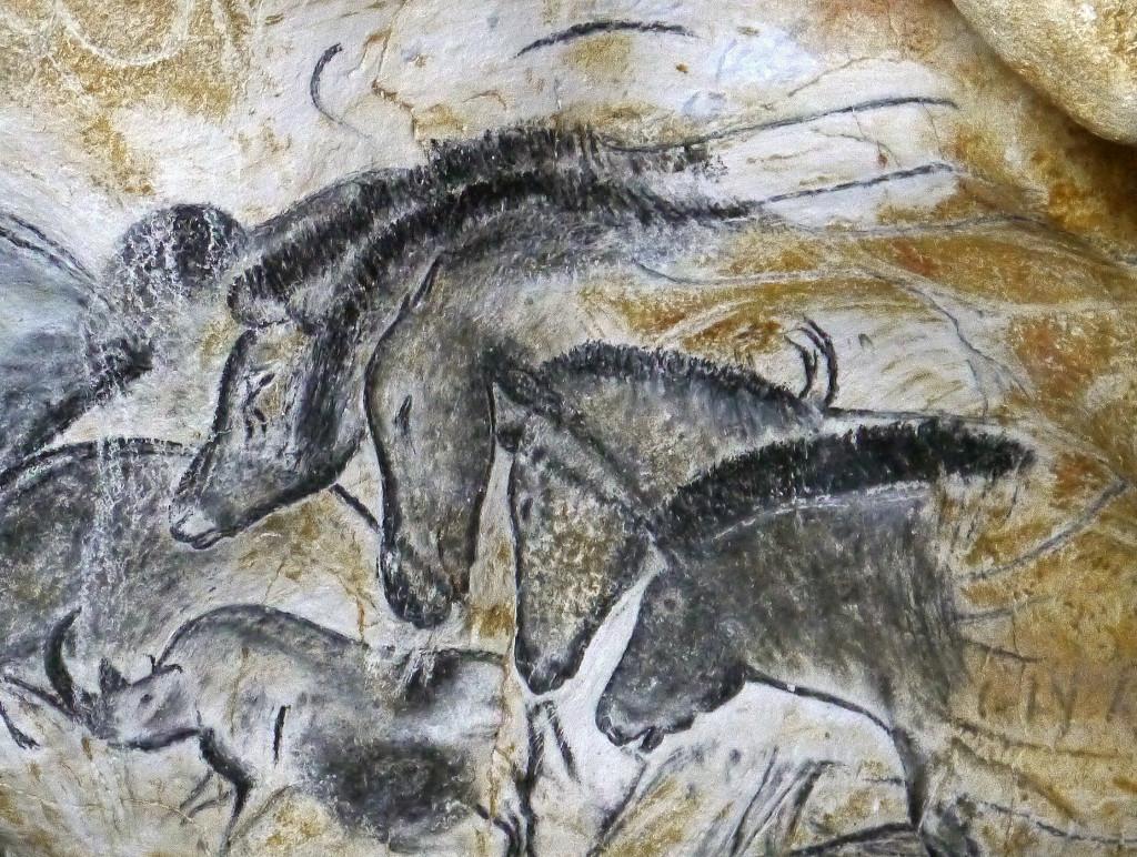 Le panneau des chevaux de La Caverne du Pont-d'Arc -® SYCPA 3