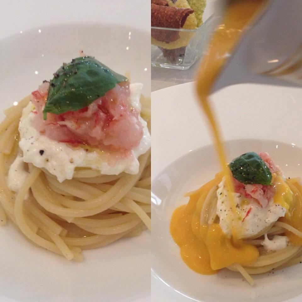 #restaurantsafari_trussardi_spaghetto