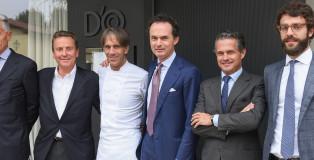 Famiglia Zanetti con Davide Oldani cover