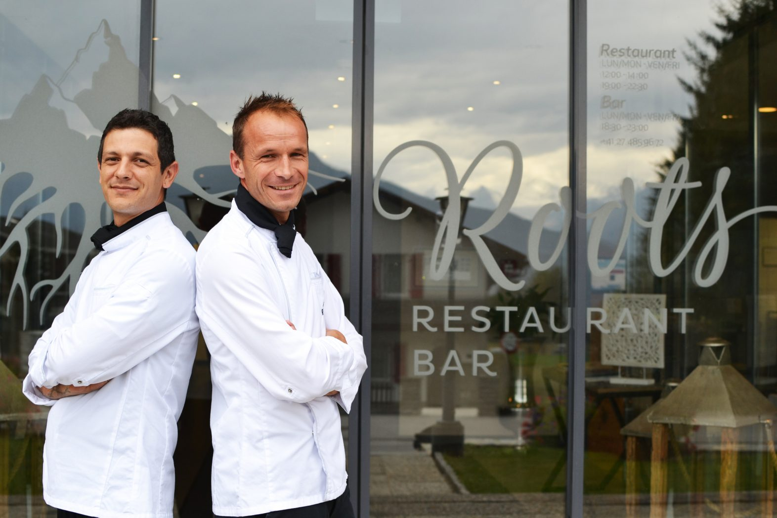 Roots ristorante didattico chef Salas Huet