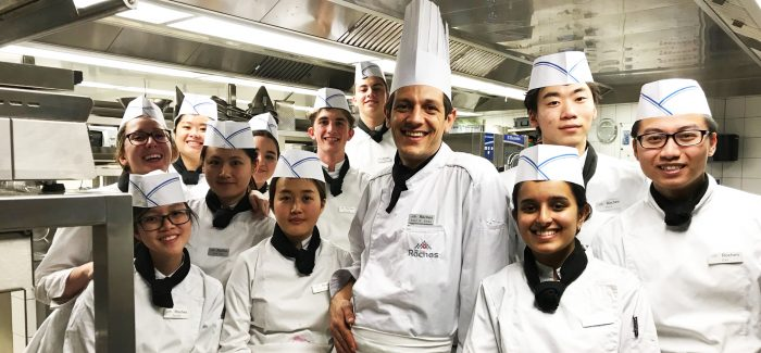 Les Roches. Chef? Uno step. La meta è hospitality management globale