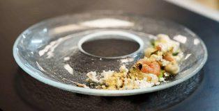 Archichefnight: piatto vinvitore gamberi alla mancanza di pancetta