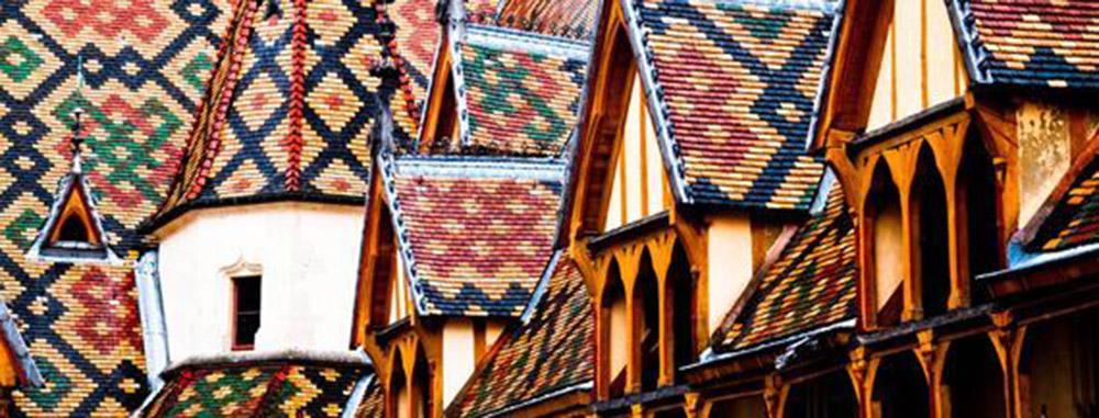 Borgogna tetti policromi