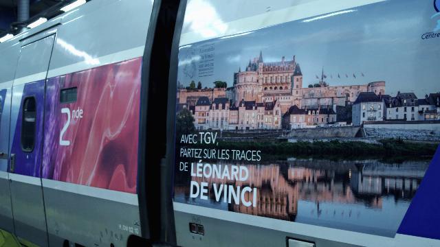TGV Milano Parigi Leonardo