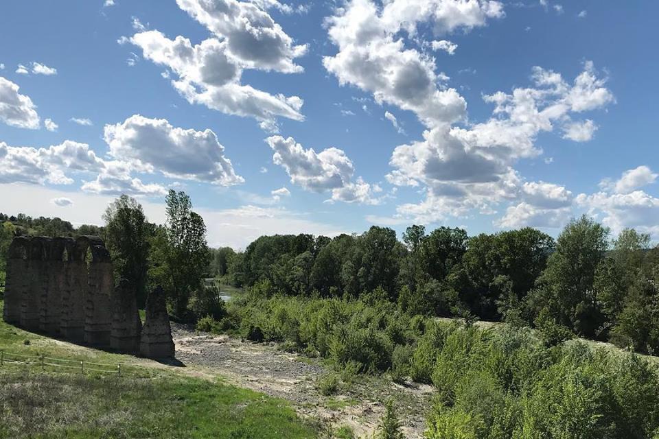 Acqui Terme archi acquedotto romano