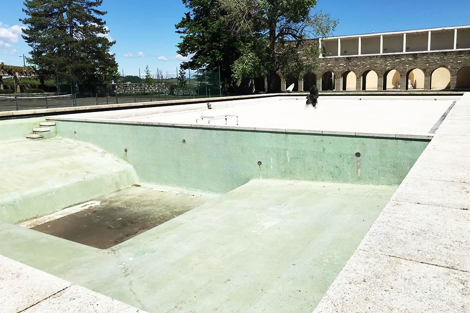 Acqui Terme piscina luogo metafisico