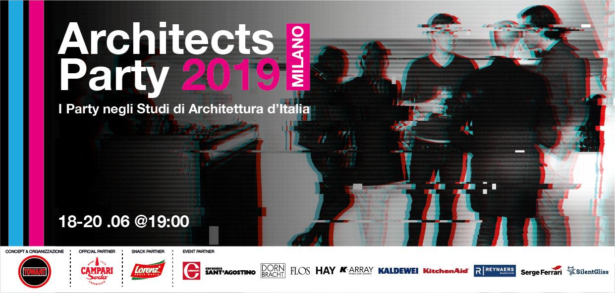 #Architectsparty2019 locandina