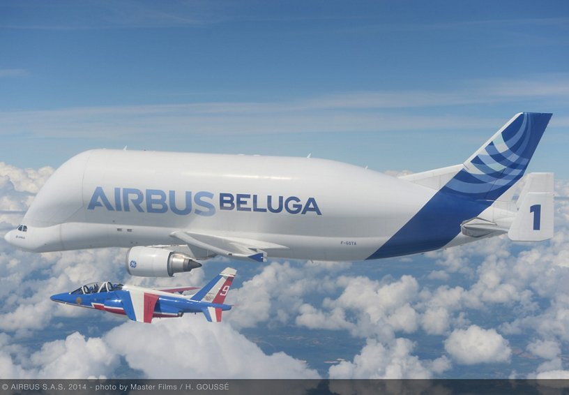 50 cose meravigliose Airbus Beluga