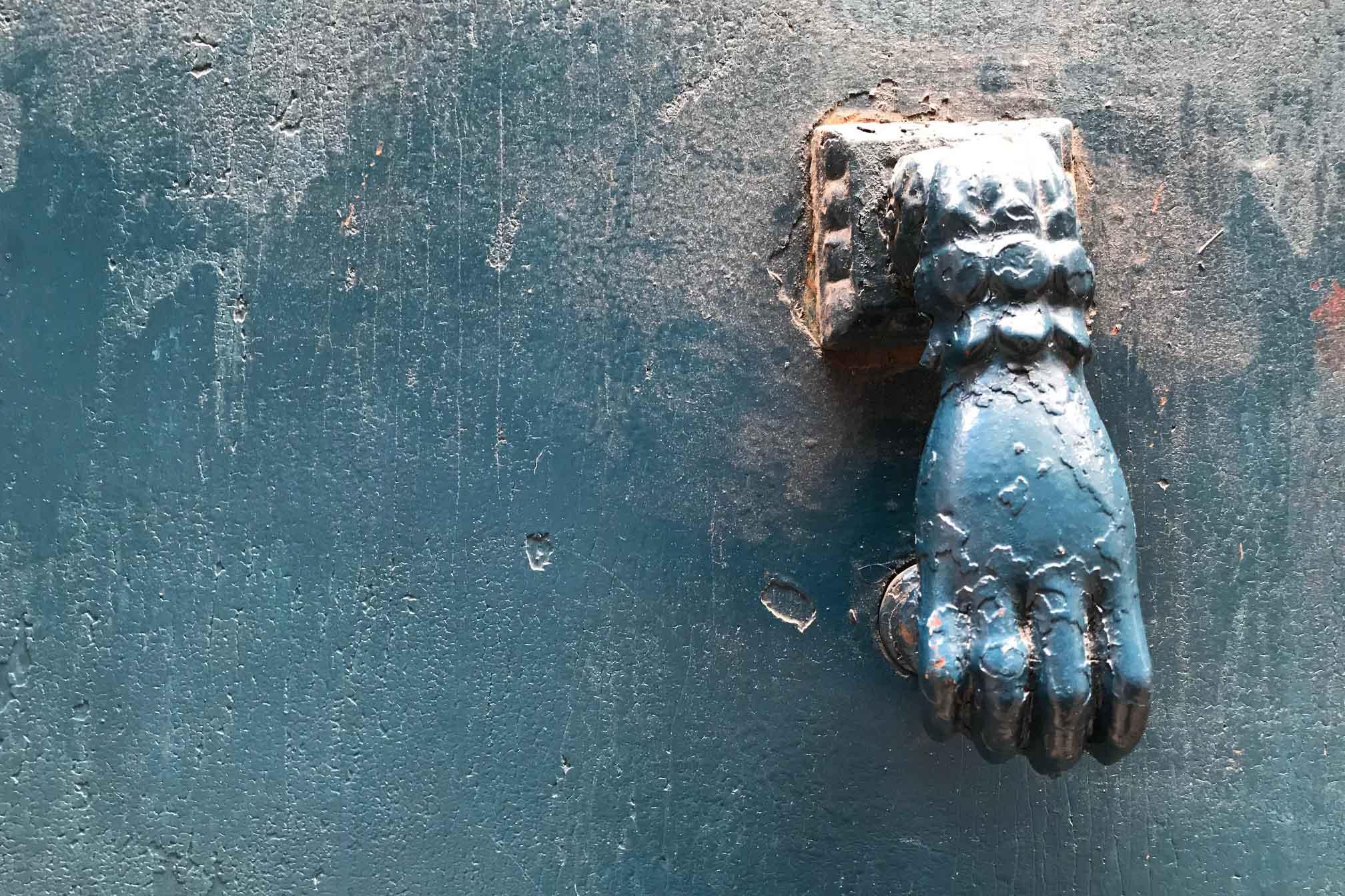 50 cose meravigliose Toulouse dettaglio portone