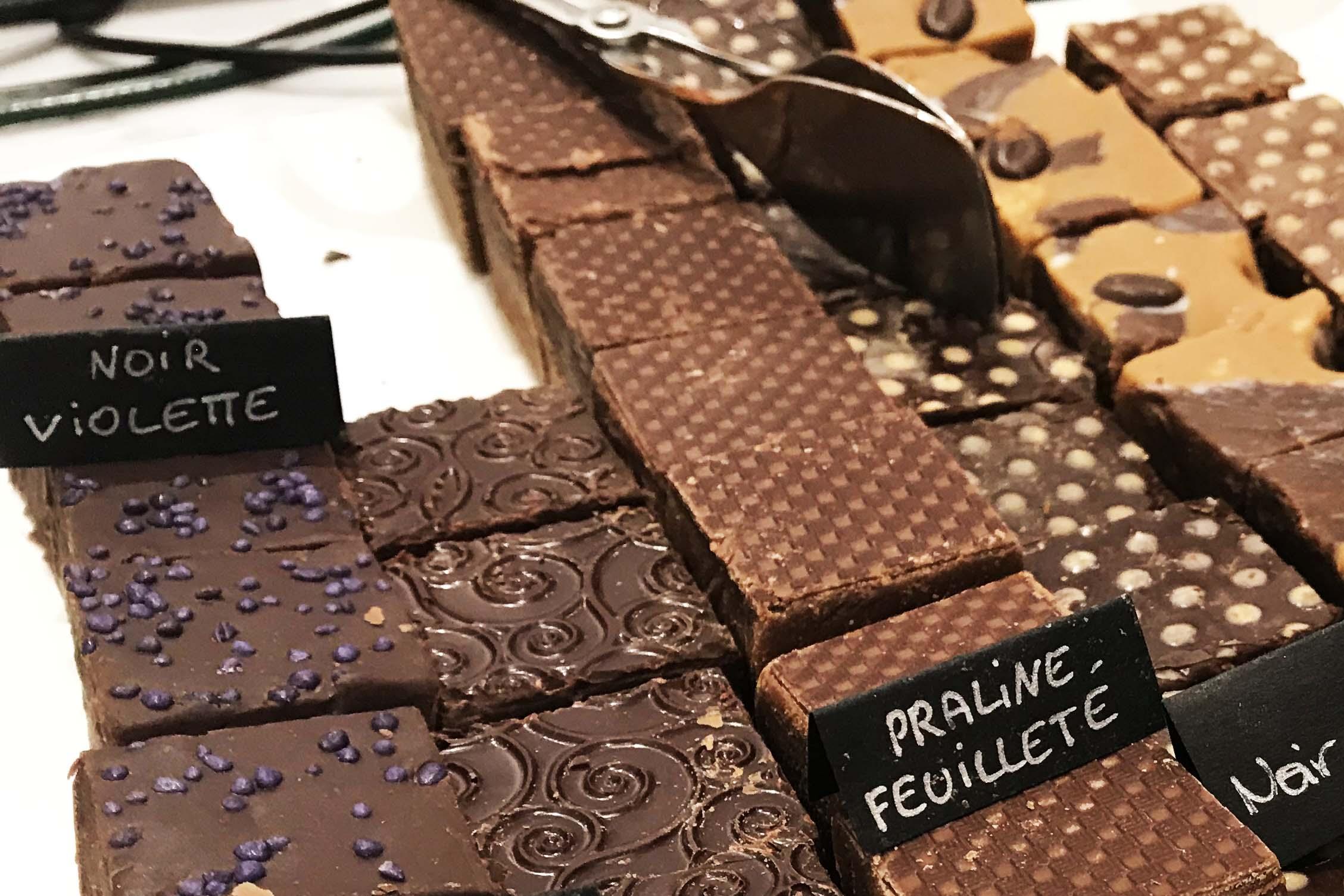 50 cose meravigliose Toulouse fudge violette