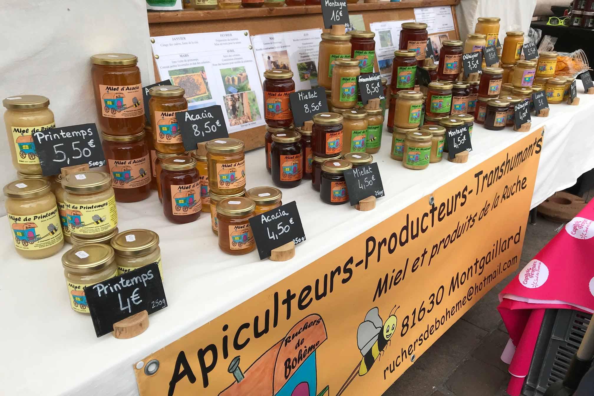 50 cose meravigliose Toulouse miele mercatino