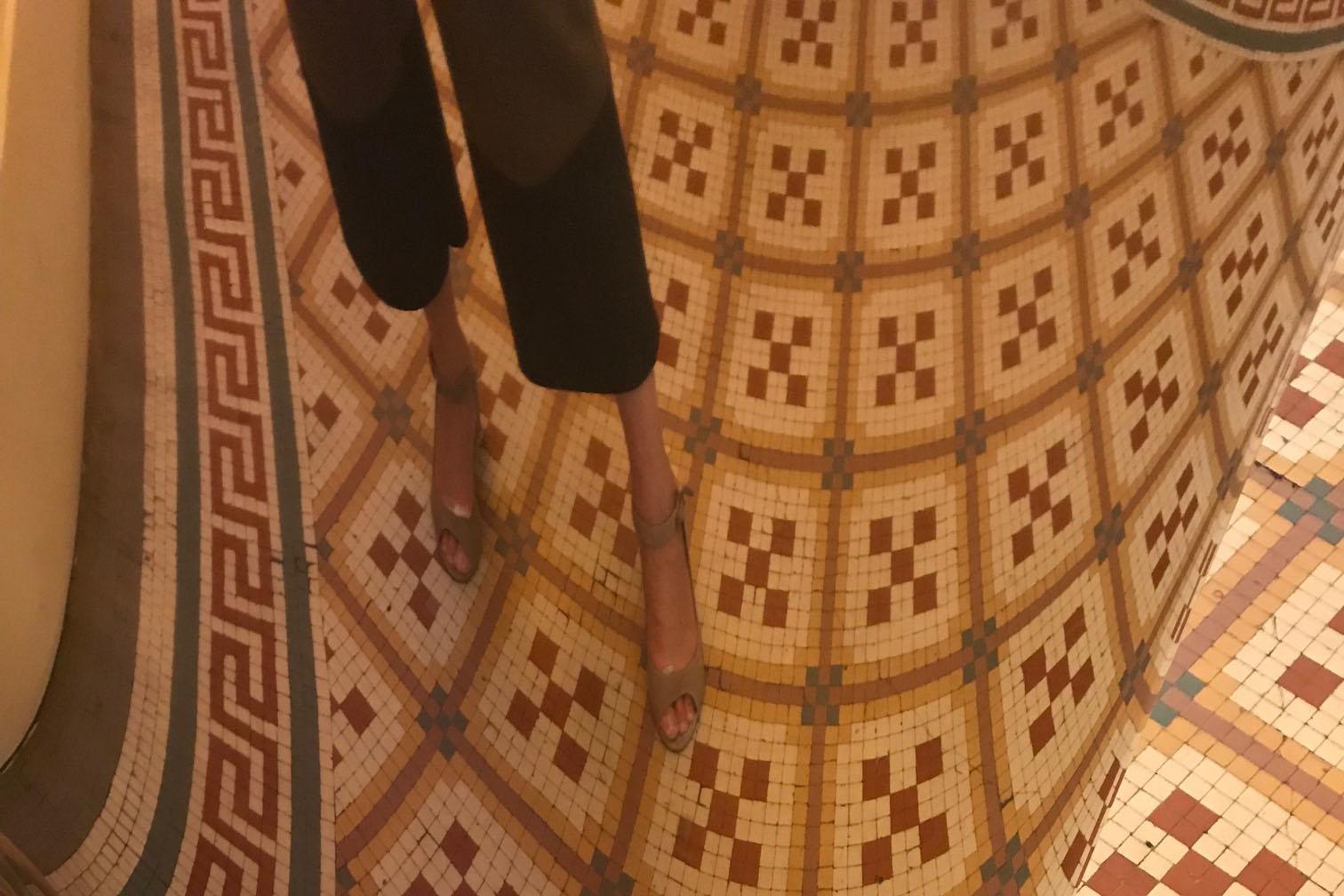 50 cose meravigliose Toulouse pavimento mosaico