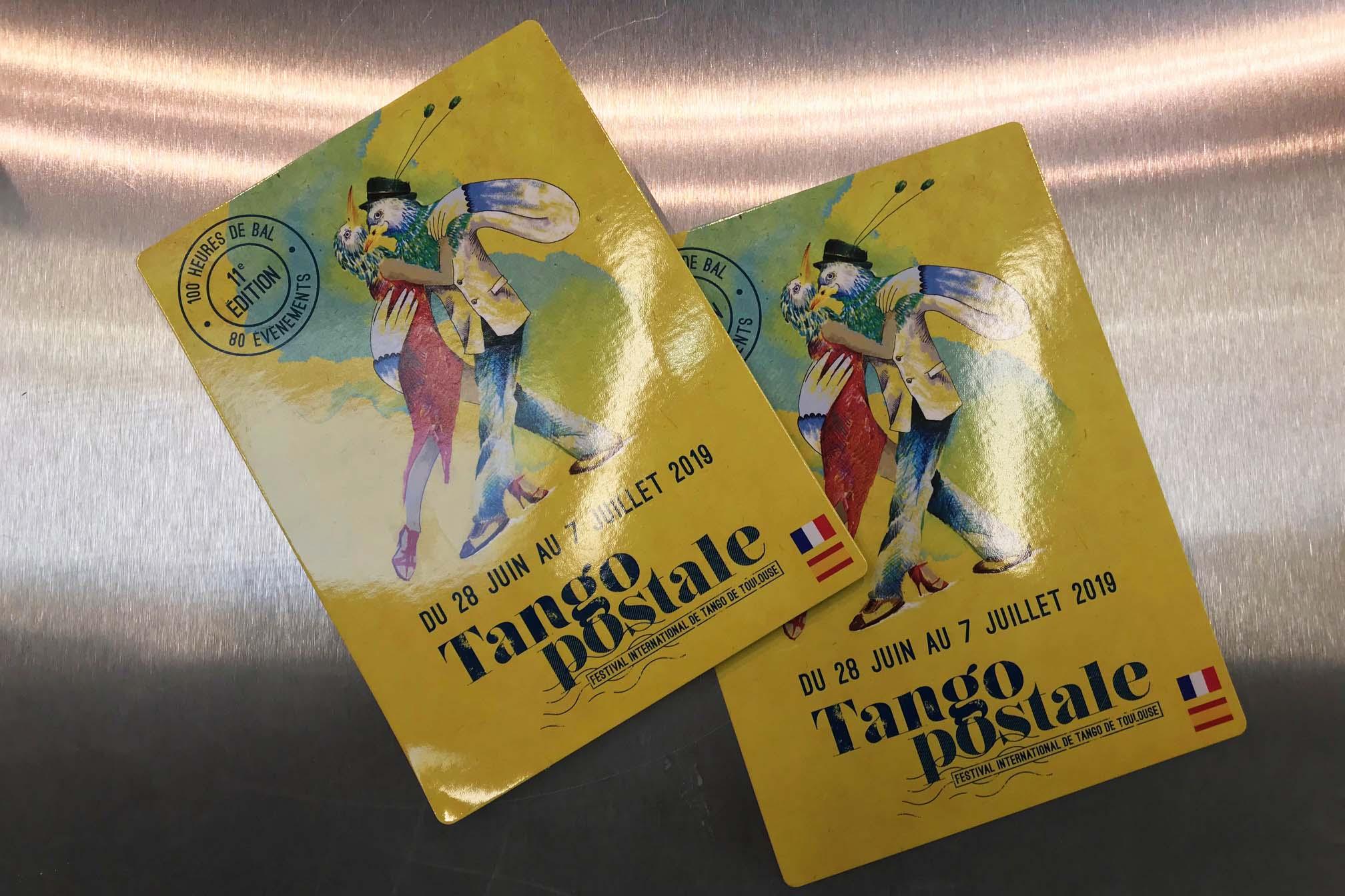 50 cose meravigliose Toulouse tango postale