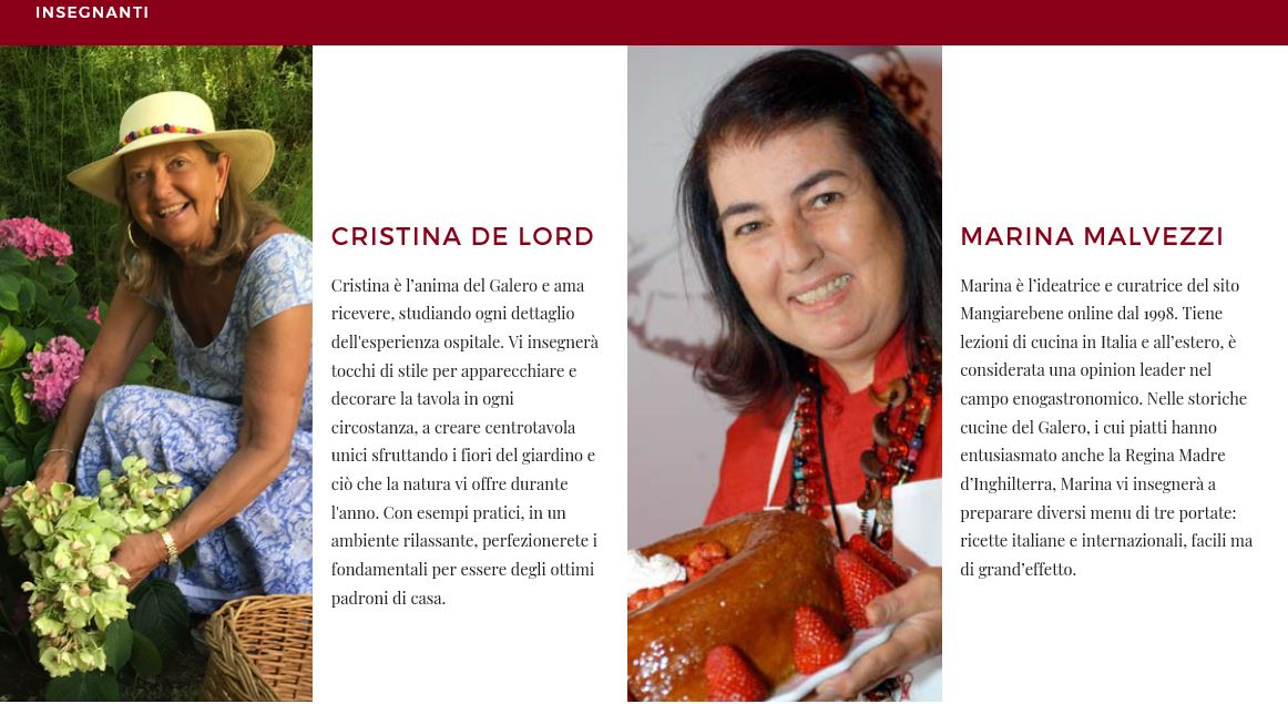 workshop goloso Cristina de Lord Marina Needham Malvezzi