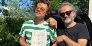 Harry Styles e Massimo Bottura Modena