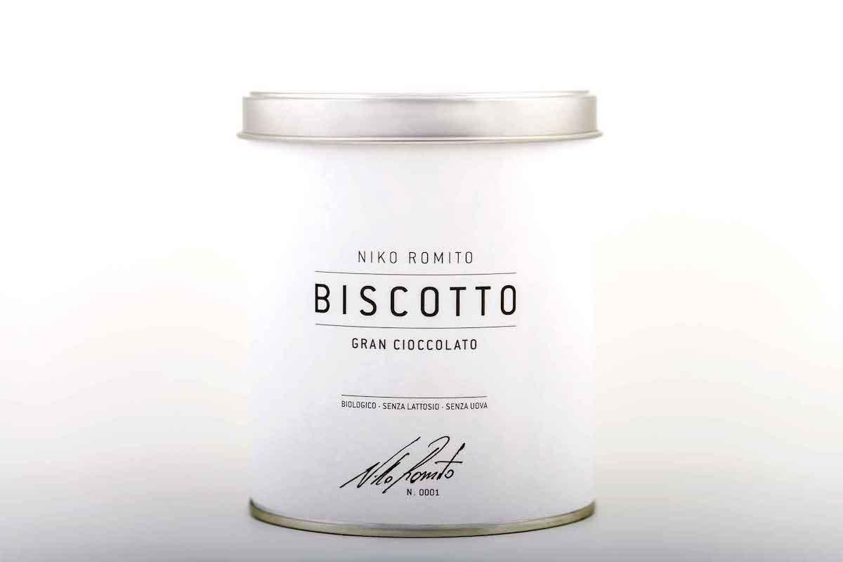 niko romito biscotto cioccolato latta