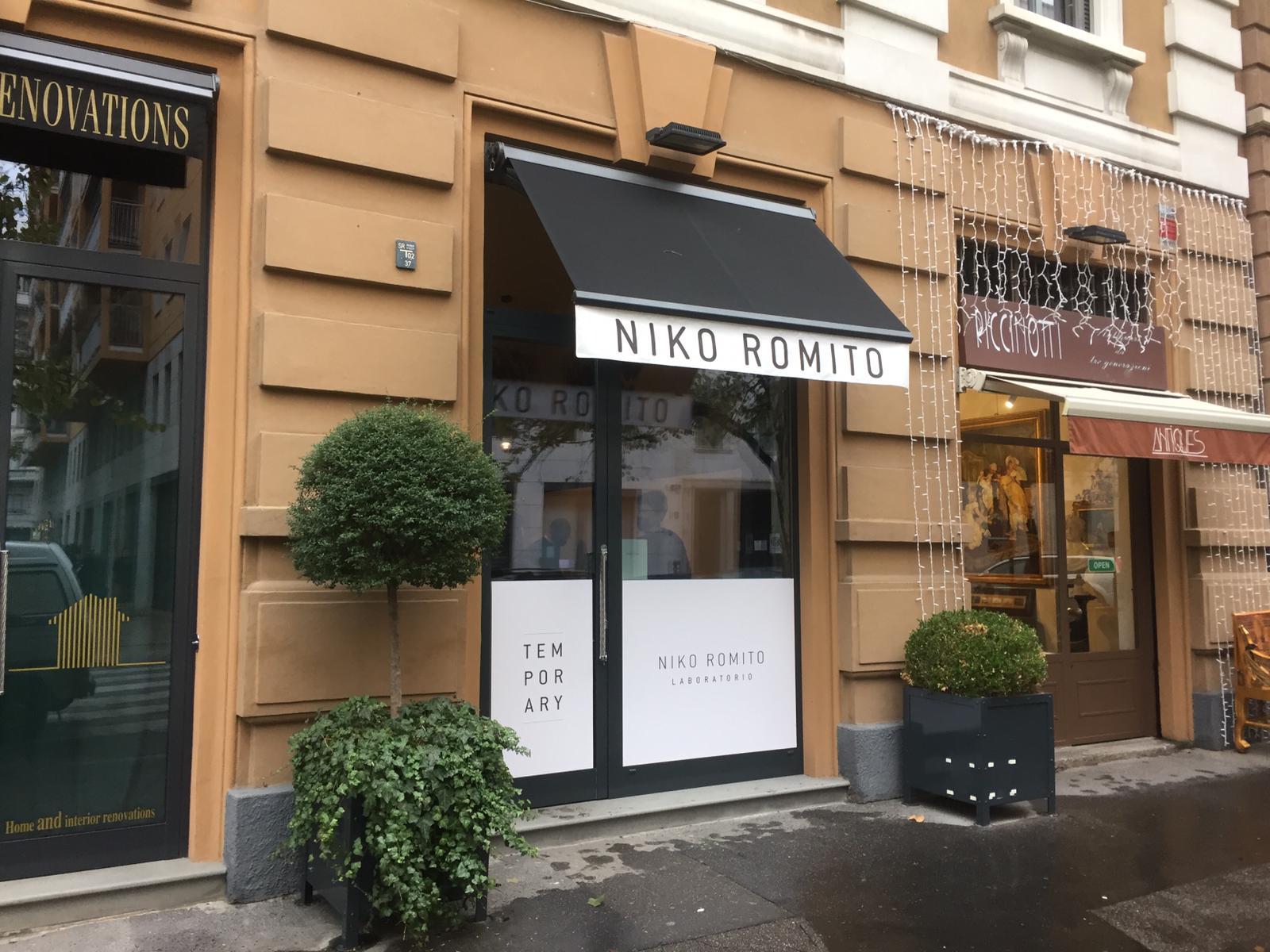 temporary shop niko romito milano